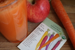 Victoria Lise Apple Carrot Ginger Juice