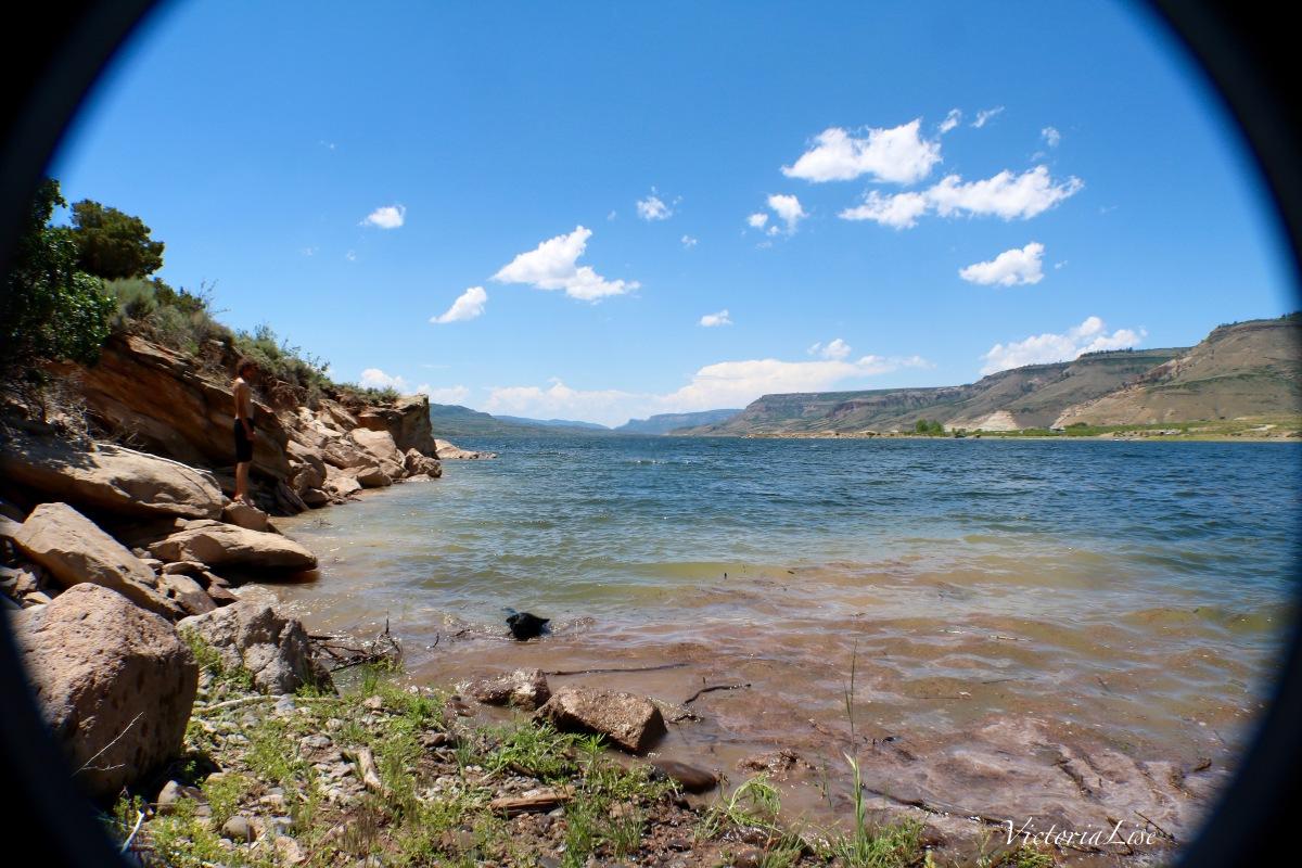 Victoria Lis Colorado Color Blue Mesa Reservoir