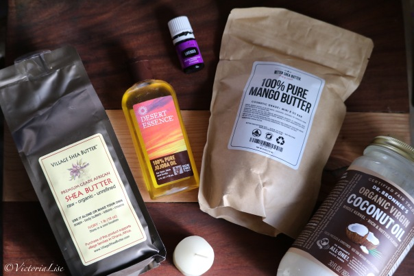 Victoria Lise Ingredients for Homemade Whipped Body Butter