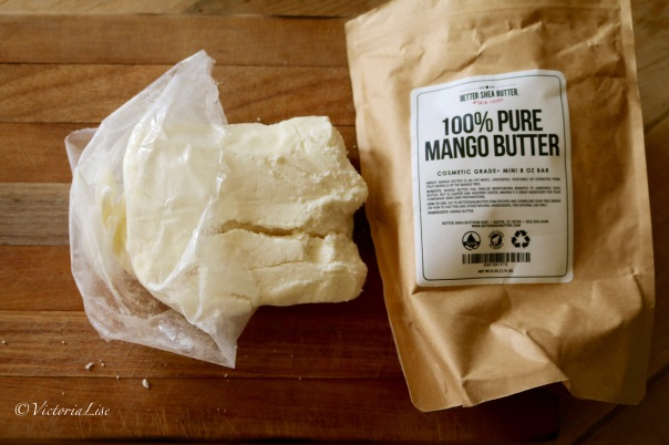 Victoria Lise Pure Mango Butter Used in 4 Ingredient Whipped Body Butter