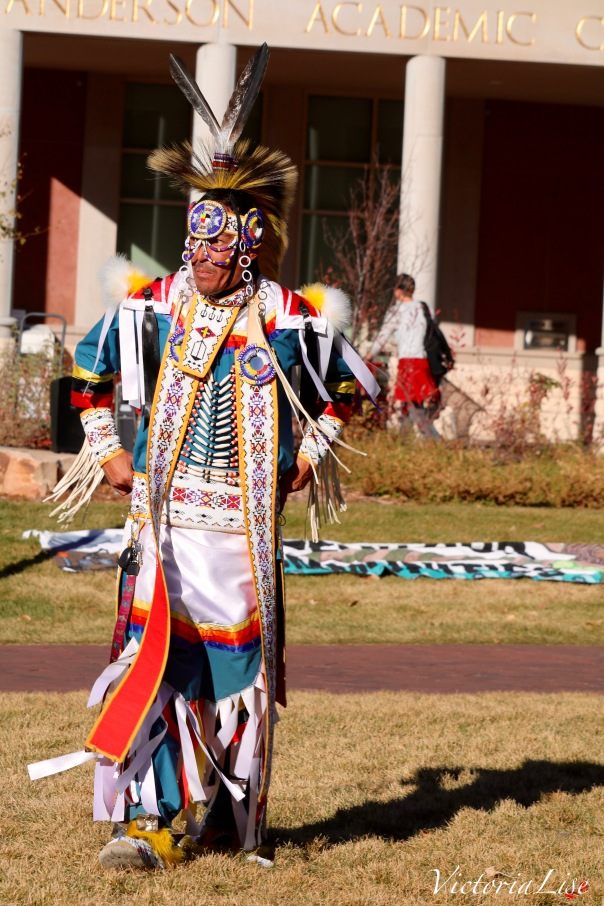 Victoria Lise National Day of Action Native Dancer