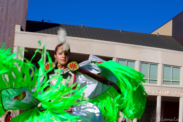 Victoria Lise National Day of Action Butterfly Dancer