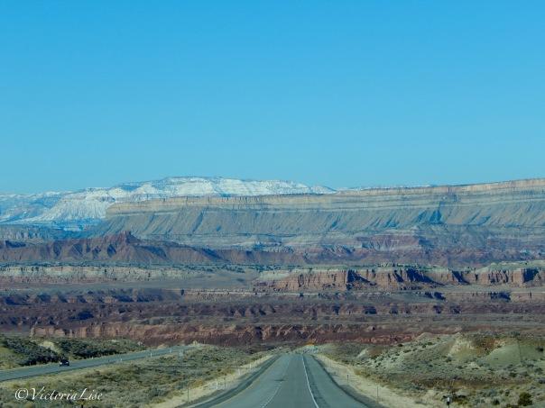 Victoria Lise photographs changing desert landscape on I-70 W