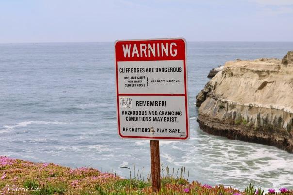 Victoria Lise Photographs Warning Sign