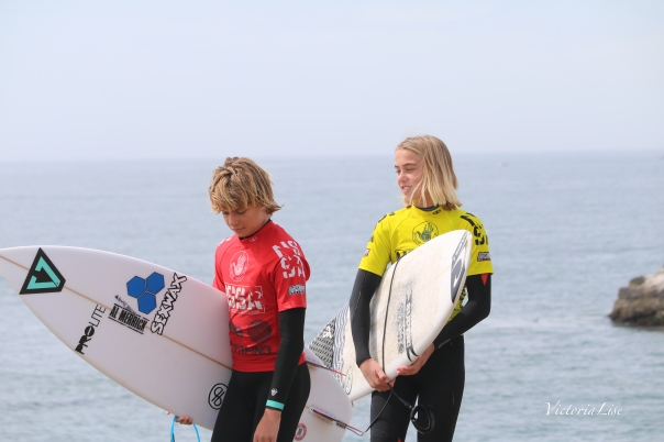 Victoria Lise Shoots Surf Competition