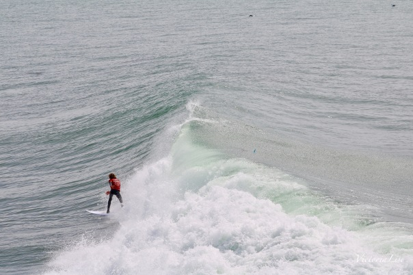 Victoria Lise Captures End of a Surfers Ride