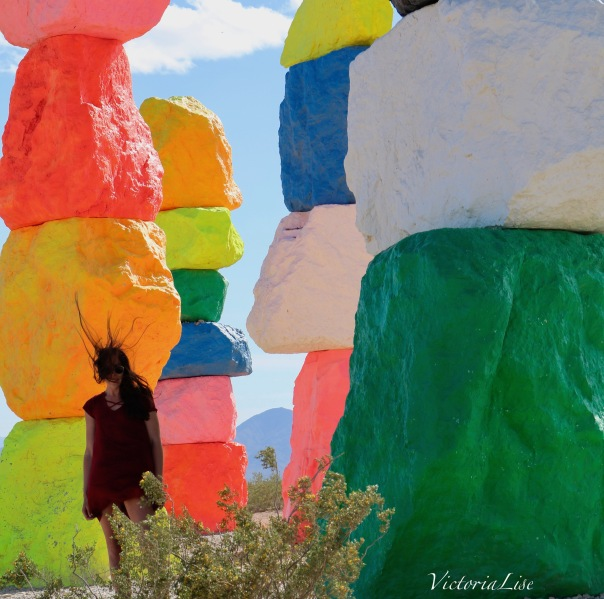Victoria Lise Wind Blown Between Magic Mountains by Ugo Rondinone