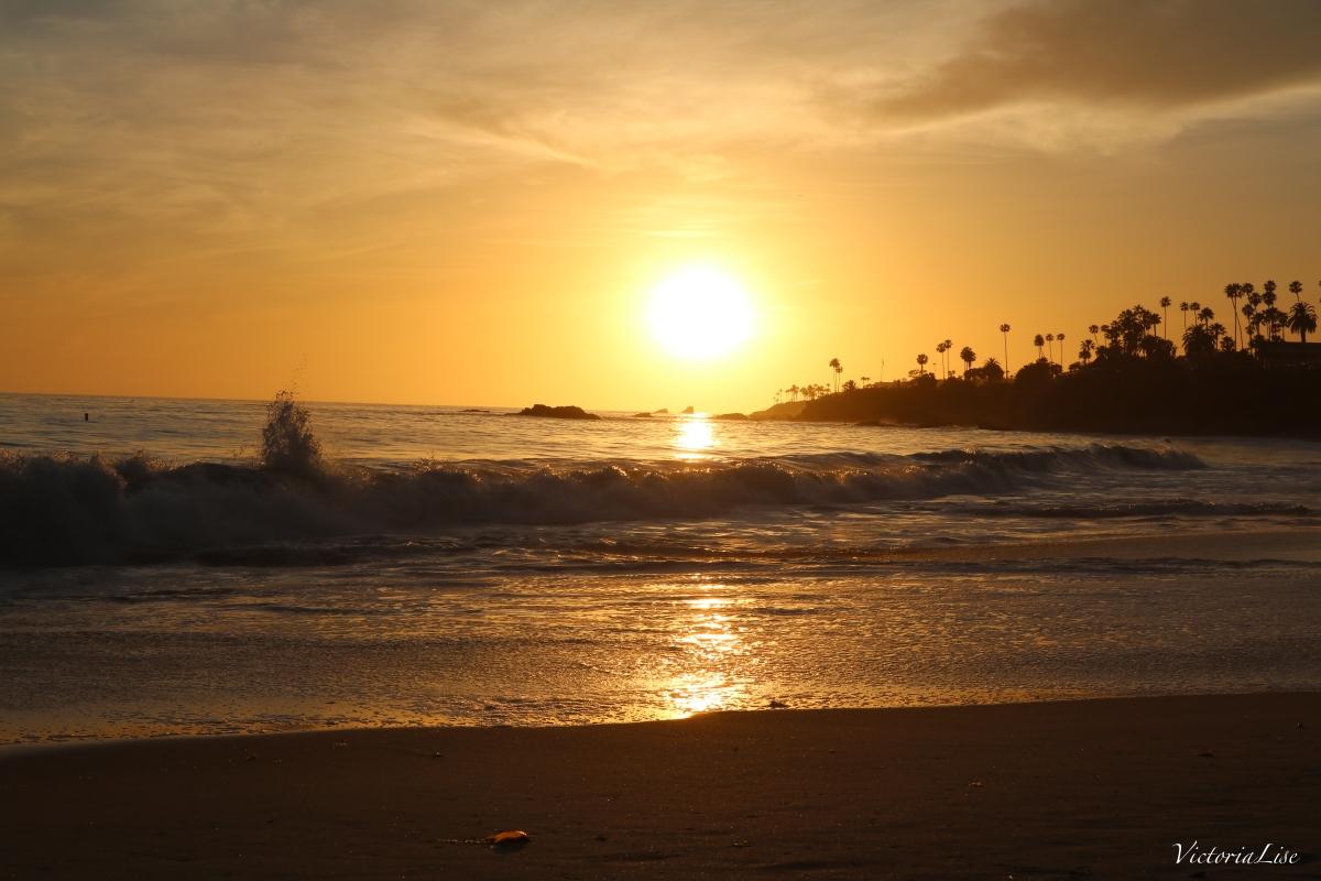 Victoria Lise Laguna Beach Sunset California