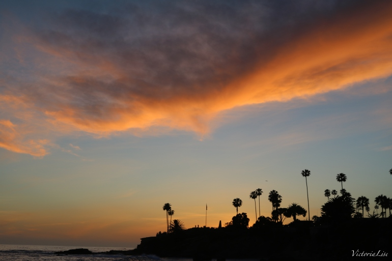 Victoria Lise Laguna Beach Sunset