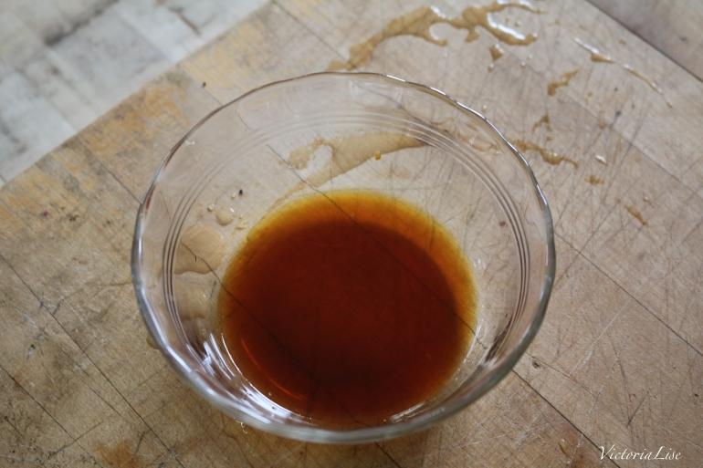 Victoria Lise Veggie Recipe Tamari Maple Sauce