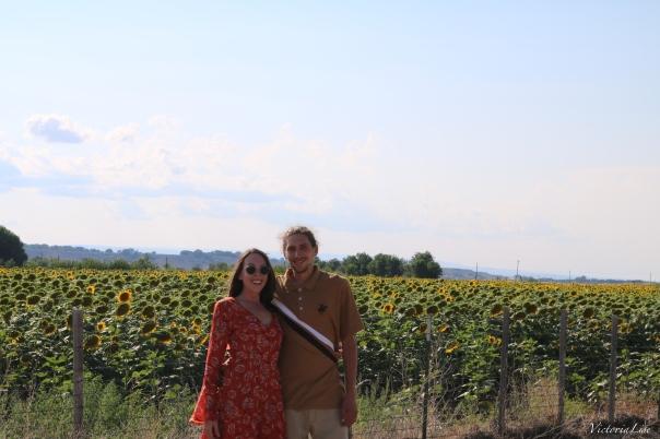 Victoria Lise and Husband on 1st Wedding Anniversary