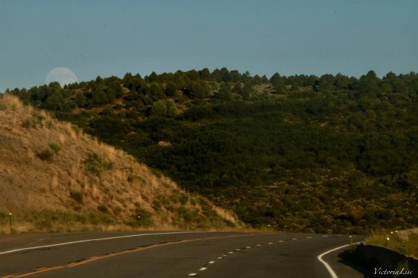 Wester Colorado Moonrise