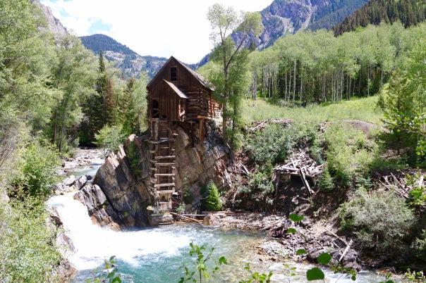 Historic Sheep Mountain Power House aka The Crystal Mill