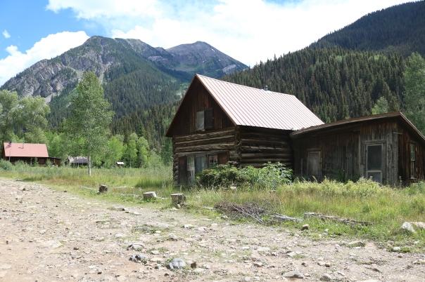 Historic cabin in Crystal, Colorado