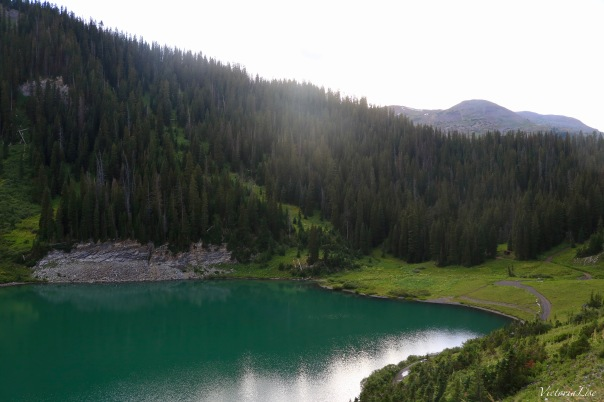 Emerald Lake at dusk Crested Butte, CO