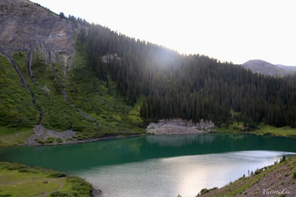 High alpine lake in Crested Butte, CO