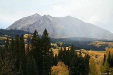 Kebler pass, Colorado during fall season. Victoria Lise 2017