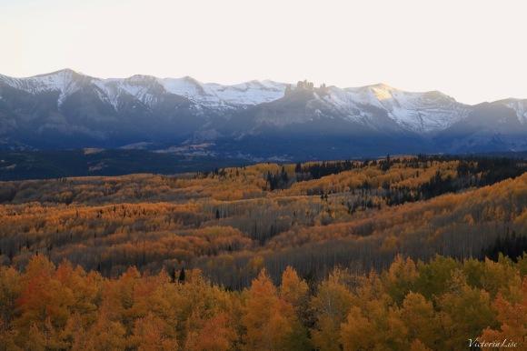 Autumn At The Castles Gunnison,Colorado