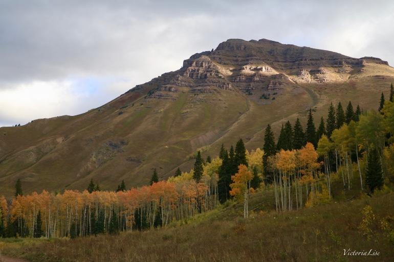 First sun on Teocalli mountain, Colorado