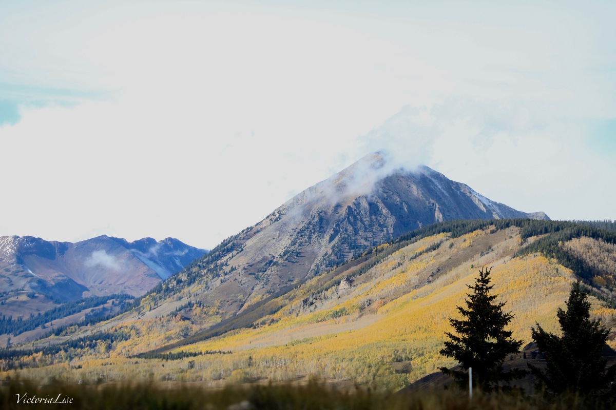 Gothic Mountain and Mt. Baldy, Crested Butte, Colorado. Victoria Lise 2017