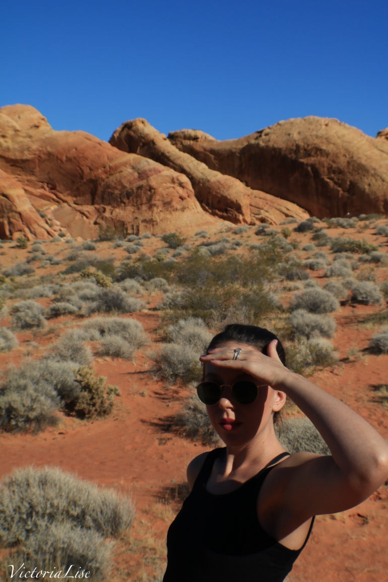 Victoria Lise in Valley Of Fire State Park