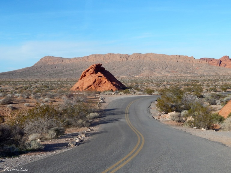 Valley Of Fire Highway. Victoria Lise