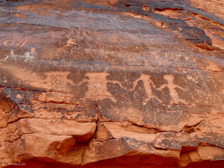 Anasazi Petroglyphs. Victoria Lise.