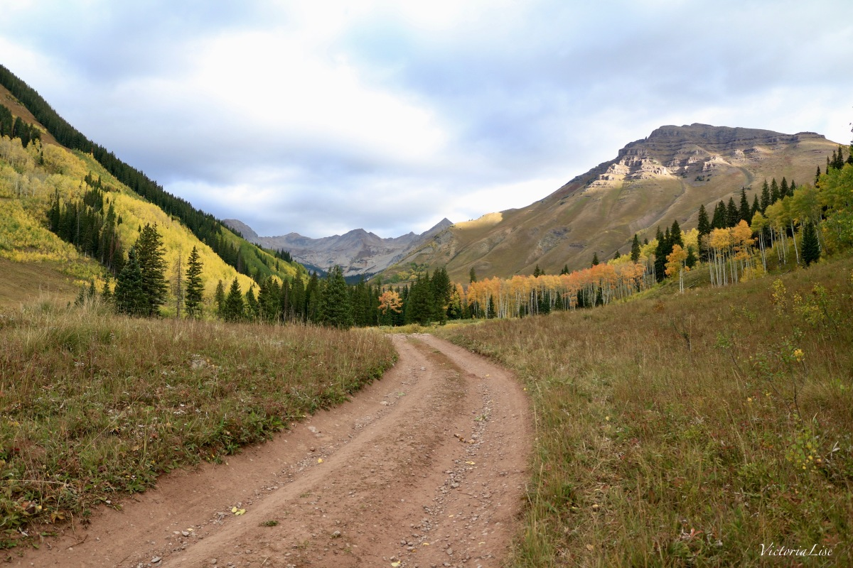 Brush Creek Road During Fall. ©Victoria Lise
