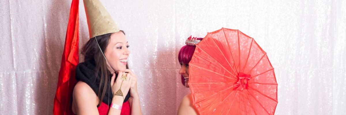 Lydia Stern & Victoria Lise Red Lady Ball.
