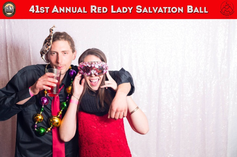 PhotoBooth Fun at the Red Lady Ball.