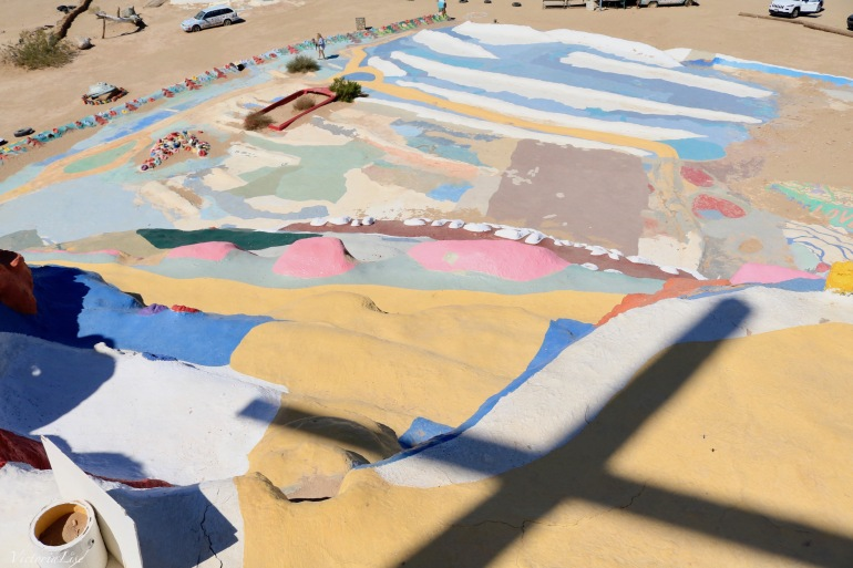 A Sea of Color, Salvation Mountain. ©Victoria Lise 2018.