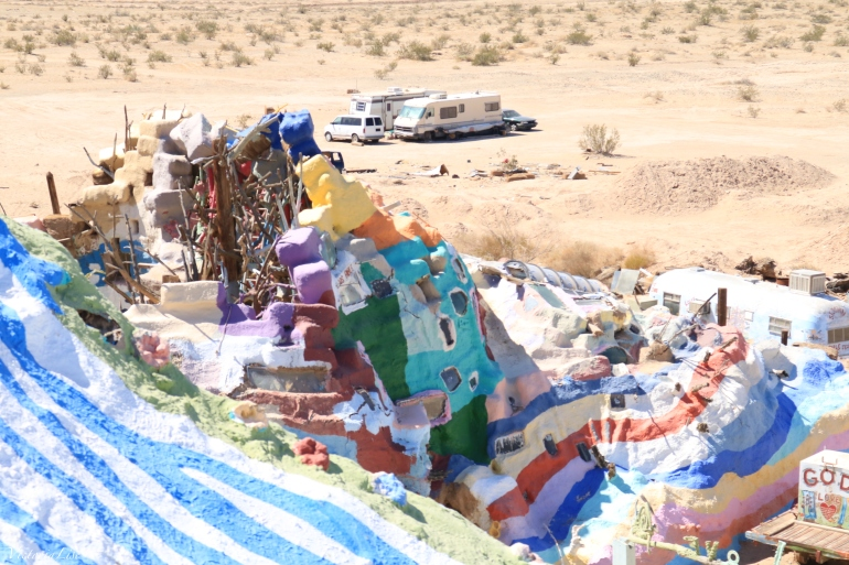 One mans 28 year mission, Salvation Mountain. ©Victoria Lise 2018.