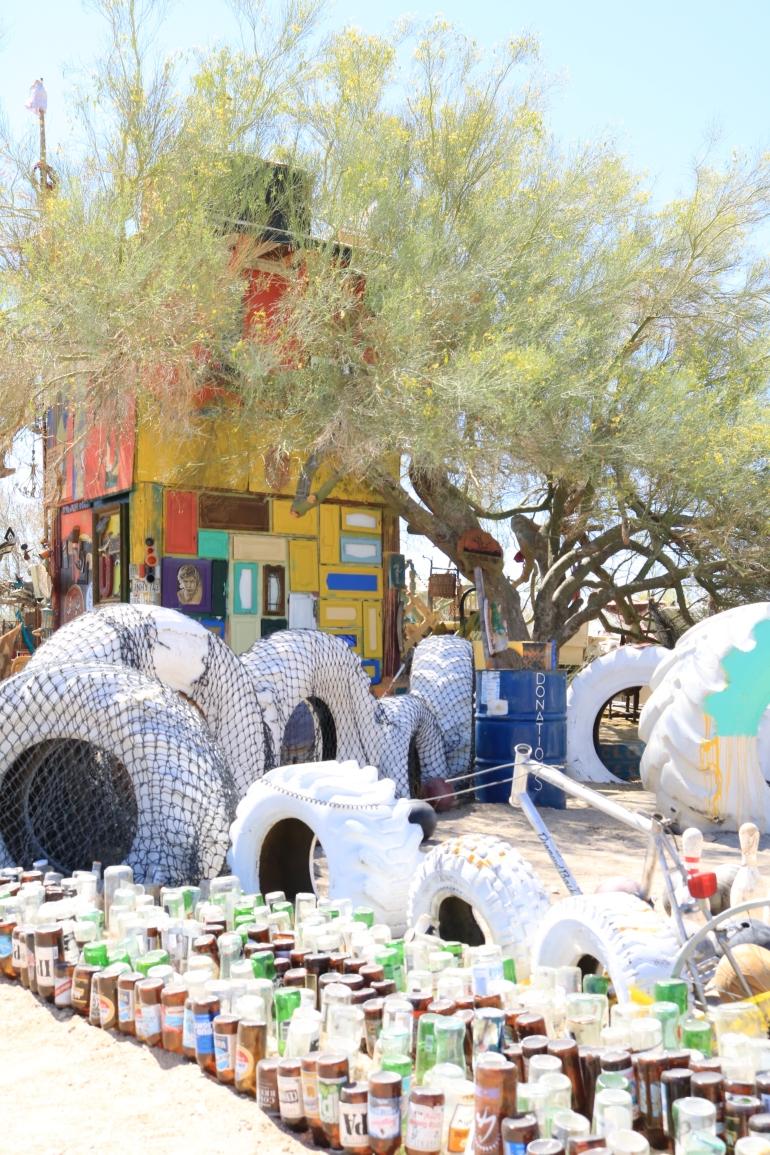 Junk Yard turned Art Yard. East Jesus Art. © Victoria Lise 2018.