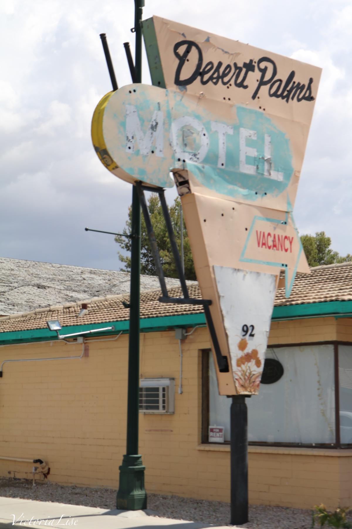 Desert Palms Motel. Mesquite, Nevada. © Victoria Lise 2018.