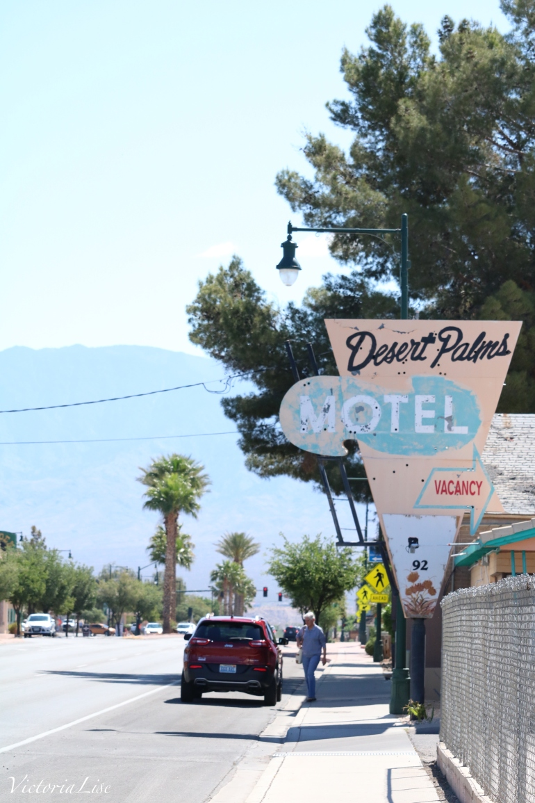 Timeless Roadside Treasure, Desert Palms Motel. ©Victoria Lise 2018.