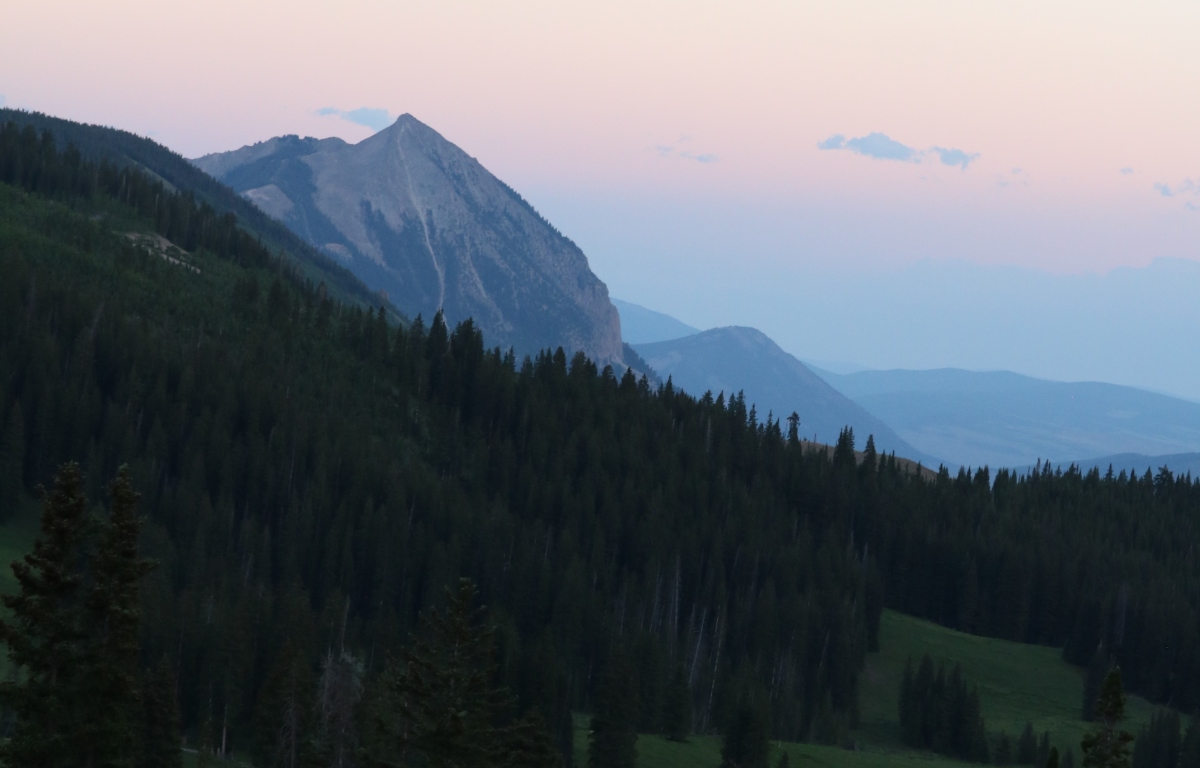 Summer Solstice from Paradise Divide, Colorado. ©Victoria Lise 2018.