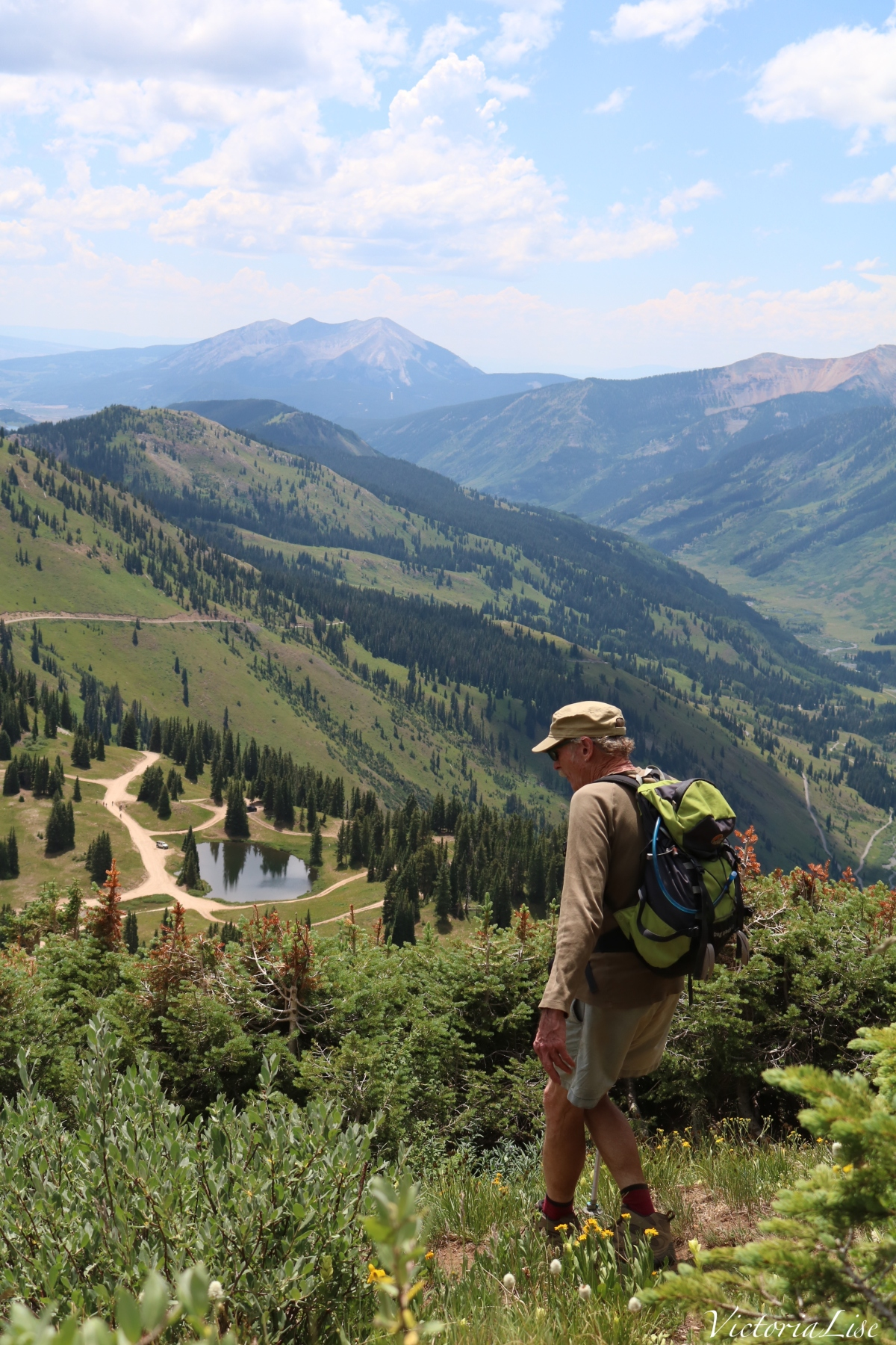 Summer hiking in The Gunnison National Forest. ©Victoria Lise 2018.