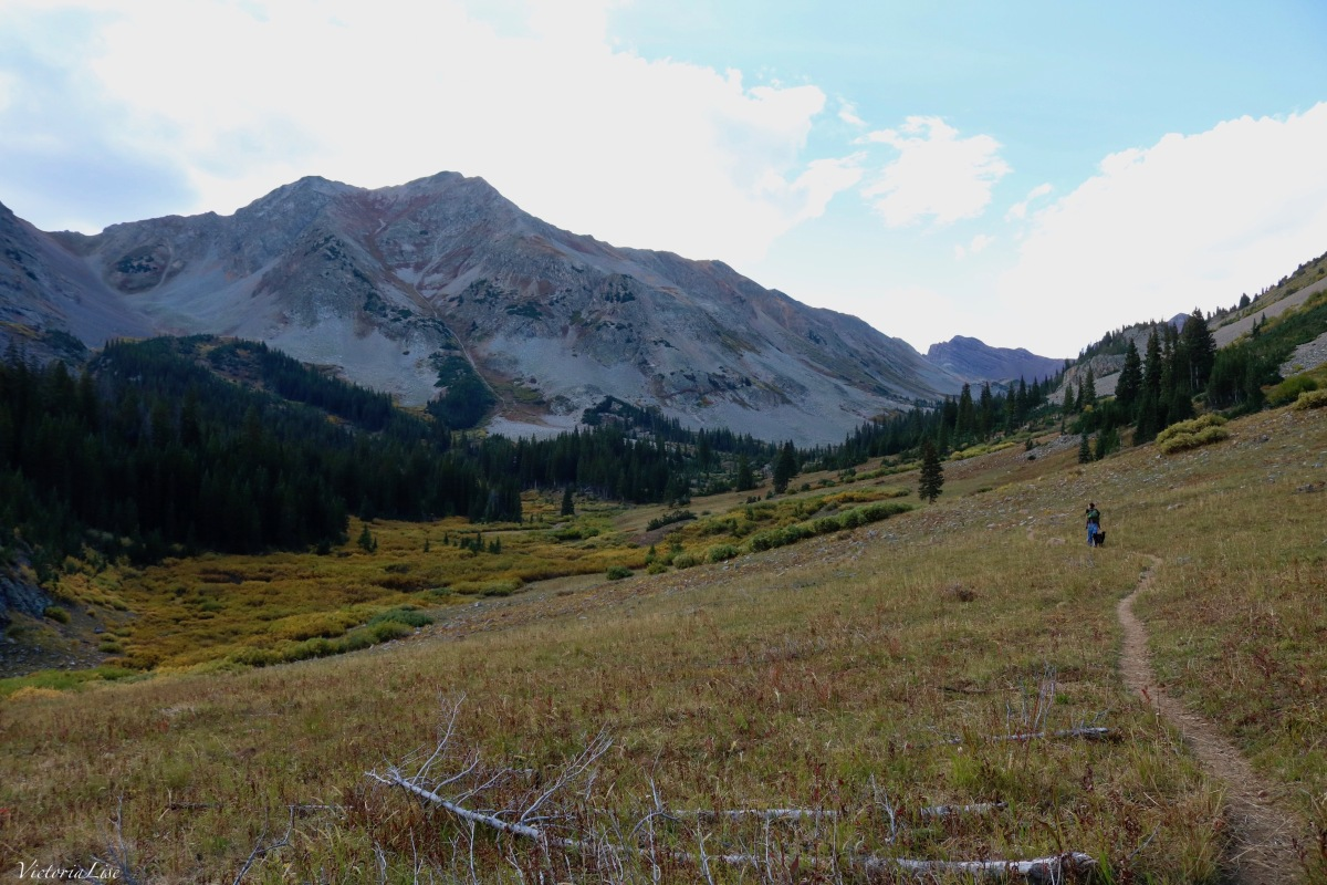 The trail to Twin Lakes, Colorado. ©Victoria Lise